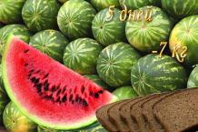 Арбузная диета (5 дней) - потеря веса до 7 кг.